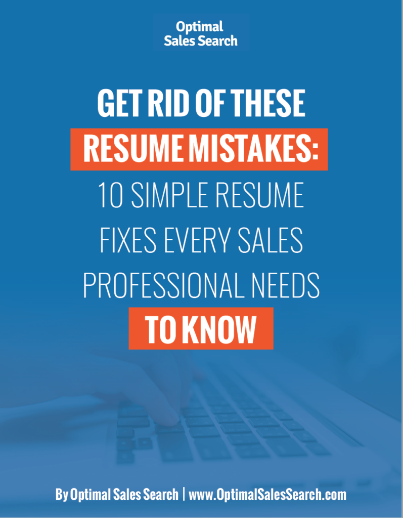 "Free report cover for ""10 Simple Resume Fixes."""