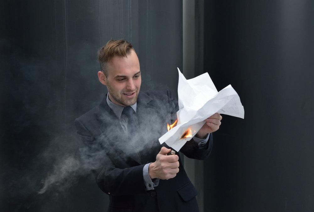 sales recruiter lighting fire to resume.jpg